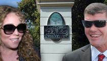 Mariah Carey, James Packer -- Shackin' Up in Calabasas