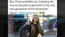 Rob Kardashian -- Blac Chyna's Having My Baby ... Trolls His Sisters, Hard (PHOTO)