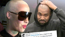 Amber Rose to Kanye West -- No More Ass Play for You ... After Wiz Attack