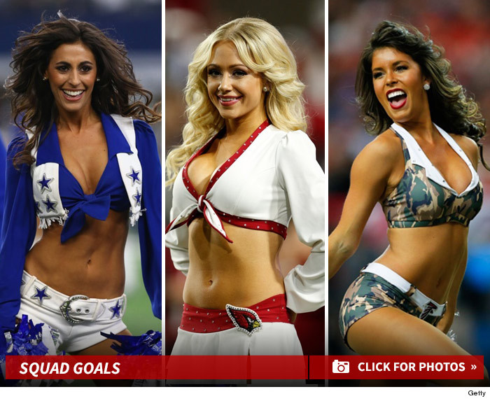 Nfl cheerleader calendar fucking