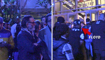Floyd Mayweather -- Line Jumps Andy Garcia ... At Lakers Game (VIDEO)