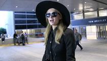Paris Hilton -- Woman In Black For Uncle Monty's Funeral (VIDEO)