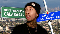 Tyga -- I Got a Sexy Bachelor Pad ... Far, Far Away From Kylie