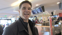 NHL Legend Luc Robitaille -- Shaq Deserves Statue ... Thank God It's Not a Free Throw Pose (VIDEO)