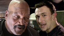 Jim Brown -- I Still Like Manziel ... Hope We Don't Trade Him