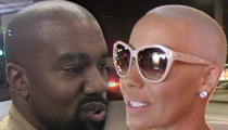 Kanye West -- Amber Rose Never Oil Checked Me
