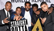 The Oscars to 'Straight Outta Compton' Cast ... Your Invitation's NOT in the Mail, But It's Not OUR Fault