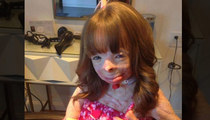 Burn Victim Safyre Terry -- Thanks for the Card North West!!!
