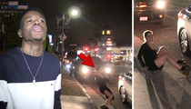 Comedian DC Young Fly -- Upstaged by Hot Chick Going Down Hard (VIDEO)