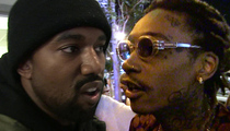 Kanye West -- White Flag Is Waving in War with Wiz Khalifa