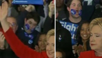 Hillary Clinton -- Iowa Sticker Kid Selling Out (VIDEO)