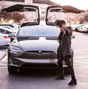 Jaden Smith's Tesla Model X Car