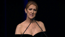 Celine Dion -- Tearful Memorial ... I Still Feel Rene's Strength