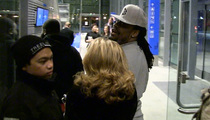 Marshawn Lynch -- Drops Beast Mode Zinger at TMZ Photog