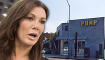 Lisa Vanderpump -- Kitchen Fire at Famous Restaurant