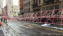 NYC Crane Crash -- Race to Save Victims Seconds After Fall (VIDEO)