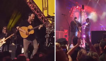 Dave Matthews Band -- Rocked the Pier at Pre-Super Bowl Party (VIDEO)