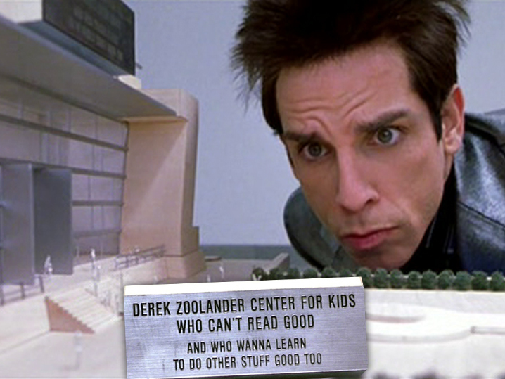 Zoolander 2' 'Center For Kids Who Can't Read Good' Becomes Th...