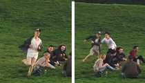 Justin Bieber -- A Little Duck Duck Goose Anyone? (VIDEO)