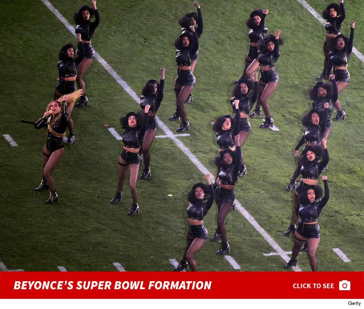 Beyonce -- Homage to Black Panthers During Super Bowl Performance ...