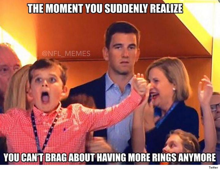 Eli Manning Explains His Superbowl Face