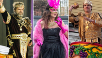 Mardi Gras Mania -- Stars On The Streets Of New Orleans