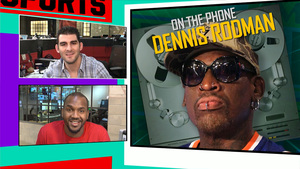 Dennis Rodman -- Hey Phil Jackson ... Here's Why I Should Coach the Knicks!