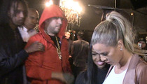 Khloe Kardashian -- Date Night with French Montana ... At the Strip Joint (VIDEO)