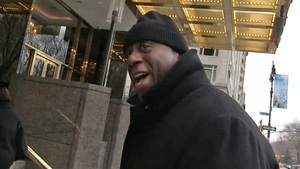 Magic Johnson -- I Like Trump's Hotels ... BUT I'M STILL TEAM HILLARY