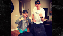 Andy Dalton -- SOMEONE FOUND MY LUGGAGE!!!