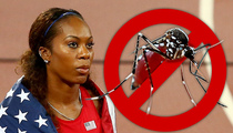 Sanya Richards-Ross -- Zika Scare Won't Keep Me From Olympics