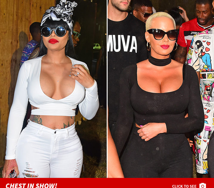 Amber Rose & Blac Chyna's Trinidad T&A Party Don't Stop   TMZ.com