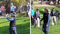 Bill Murray -- Golf Schtick At Pebble Beach (Video)
