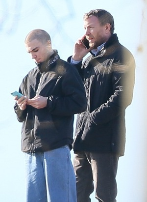 Guy Ritchie and Rocco -- There's a Buzz in the Air