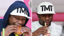 Floyd Mayweather -- My Retirement Diet ... Burgers, Shakes, Waffles (PHOTOS)