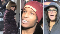 Kanye West -- Celebs Flock to MSG (VIDEO)