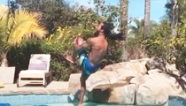 Richard Sherman -- That's Not a Cannonball ... DO IT AGAIN! (VIDEO)