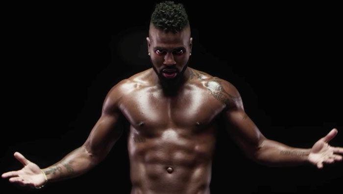 Jason Derulo Gets (Yup!) Naked in His 'Naked' Music