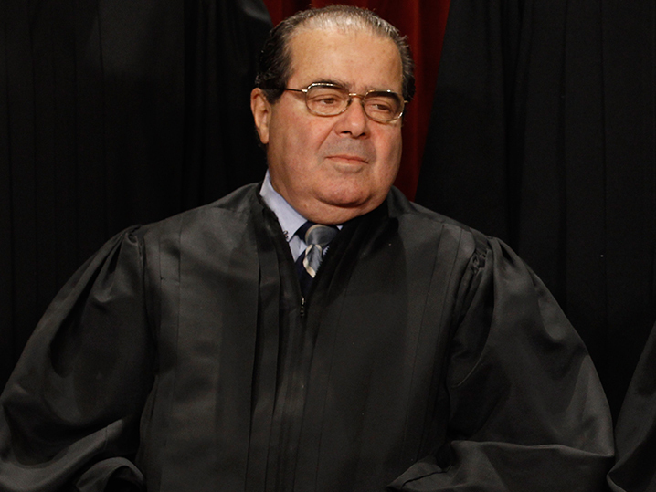 how tall is justice scalia