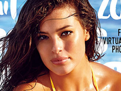 Ashley Graham Is FIRST Size-16 Model to Cover SI Swim -- Wait'll You See This Pic!
