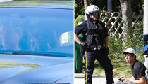 Taylor Swift -- Cops Called for Man with Guitar (PHOTOS)