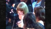 Taylor Swift -- Sheds a Tear, Pisses on Kanye