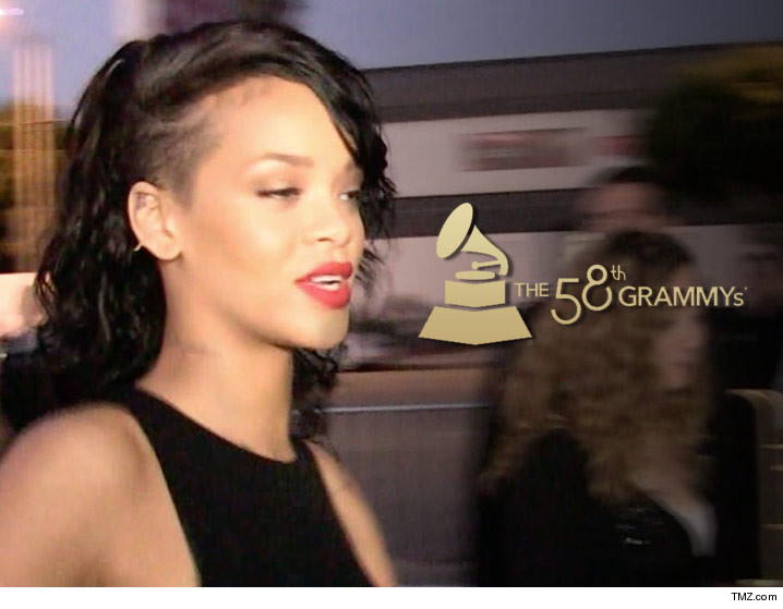 Pleasant Rihanna Meltdown At The Grammys Tmz Com Hairstyle Inspiration Daily Dogsangcom