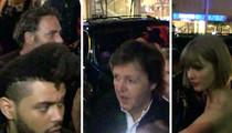 Republic Records Grammy Party -- Taylor, Sir Paul, Weeknd Rub Elbows (VIDEO)