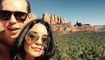 Vanessa Hudgens -- Criminal Investigation for Defacing Precious Rocks