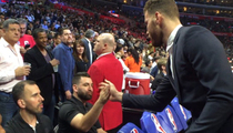 Blake Griffin -- Bros Out with Matias ... 1 Month After Fight
