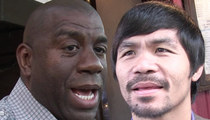 Magic Johnson -- I'm Done with Pacquiao ... 'Won't Watch Another Fight'
