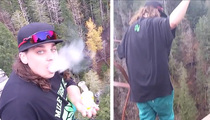 YouTube Stoner -- Films His Own Crime ... Cops Say, 'Thanks' (VIDEO)
