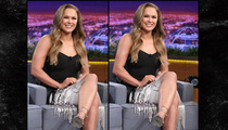Ronda Rousey -- Calls Out Photoshop Job ... Don't Ever Touch My Arms!