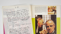 'The Godfather' -- Original Draft SOLD for $625,000!